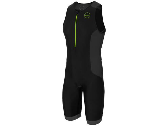 Zone3 Aquaflo Plus Trisuit Heren, zwart/grijs
